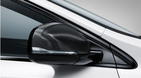 V40 Carbon Fibre Door Mirror Cover